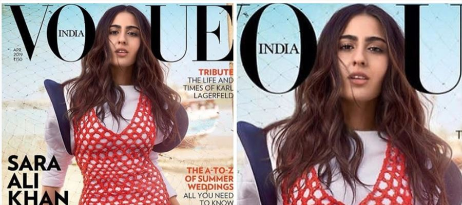 Sara Ali Khan turns cover star for April issue of Vogue India magazine